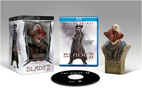 Simon Lee Spiderzero Blade II Comic-Con exclusive blu-ray gentle giant