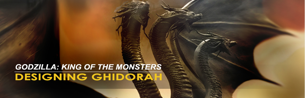 Simon Lee spiderzero Godzilla King of Monsters Ghidorah designer